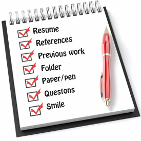 what to bring to an interview lr solutions